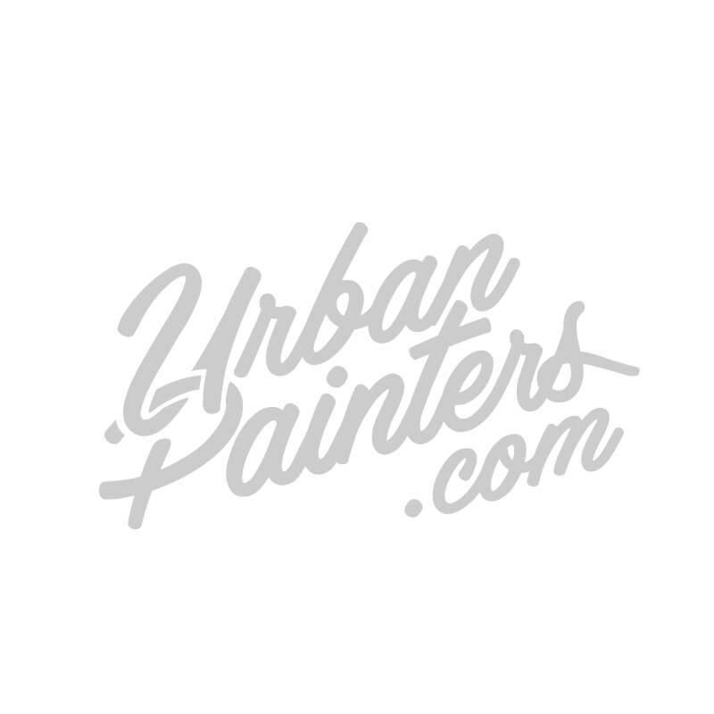 pack spray graffiti action chrome noir x 12 600ml urban painters. Black Bedroom Furniture Sets. Home Design Ideas