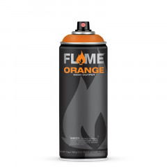 Bombe de peinture acrylique Flame Orange 400ml