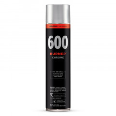 Bombe de peinture chrome Molotow Burner 600ml