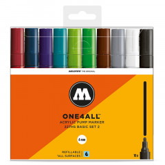 Clearbox 10 marqueurs One4all 4mm | Kit 2