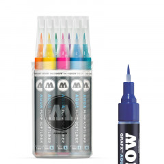 Full'Box 12 feutres Molotow Aqua-Ink Softliner
