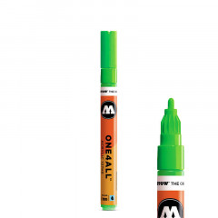 Feutre peinture fluorescente Molotow One4All 2mm | 127HS