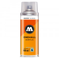 Bombe de vernis brillant anti UV sans odeur Molotow One4all 400ml
