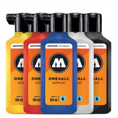 Kit primaire Molotow One4all | 5x180ml