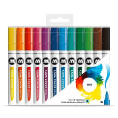 Clearbox 12 feutres Molotow Aqua Color Brush | Basic Set 1,Clearbox 12 feutres Molotow Aqua Color Brush | Basic Set 1,Clearbox 12 feutres Molotow Aqua Color Brush | Basic Set 1,Clearbox 12 feutres Molotow Aqua Color Brush | Basic Set 1,Clearbox 12 feutres