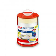 Dévidoir Easy Cover et bâche de protection Tesa | 550mm x 33m