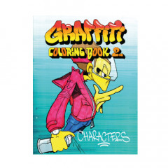 Livre de coloriage Graffiti Coloring Book 2