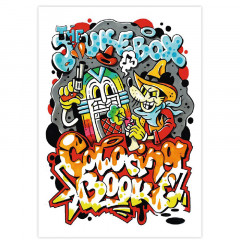 Livre de coloriage The Jukebox Coloring Book