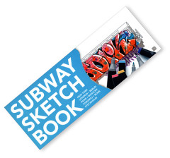 Livre personnalisable Subway Sketch Book