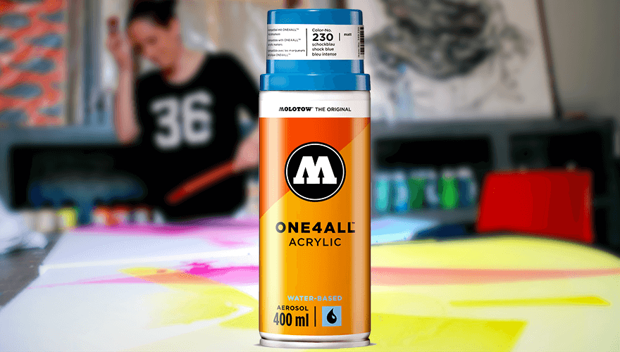 bombe de peinture Molotow One4All